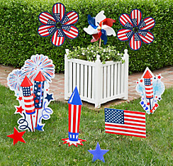 Patriotic Deluxe Planter Kit