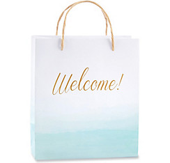 Blue Ombre Welcome Gift Bags