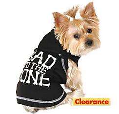 Bad to the Bone Dog Hoodie