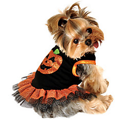 Pumpkin Dog Tutu Dress