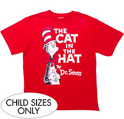 Red Cat in the Hat T-Shirt