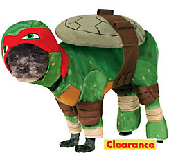 Teenage Mutant Ninja Turtles Raphael Dog Costume