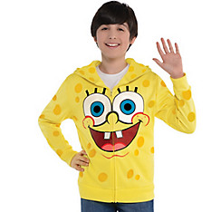 Child SpongeBob Zip-Up Hoodie - SpongeBob SquarePants