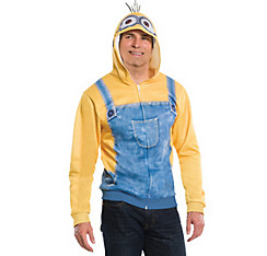 Minion Zip-Up Hoodie - Minions Movie