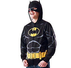 Child Batman Zip-Up Hoodie