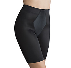 Black Thigh Slimmer Shorts