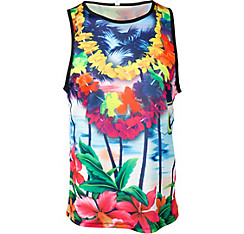 Tropical Beach Lei Tank Top