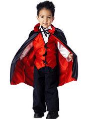 Toddler Boys Vampire Costume