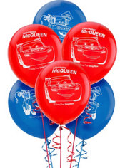 Cars Balloons 6ct
