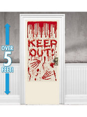 Dripping Blood Door Cover 65in