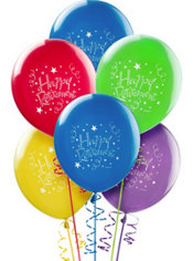 Happy Retirement Balloons 12in 15ct