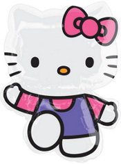 Foil Princess Hello Kitty Balloon 31in