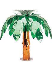 Metallic Palm Tree Centerpiece