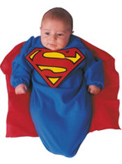 Baby Superman Costume Baby Bunting