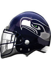 Seattle Seahawks Helmet Foil Balloon 26in