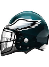 Philadelphia Eagles Helmet Foil Balloon 26in