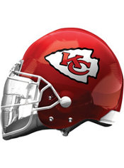 Kansas City Chiefs Helmet Foil Balloon 26in