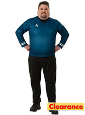 Adult Spock Costume Plus Size - Star Trek