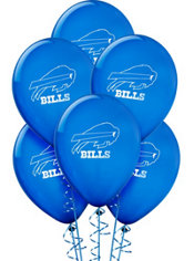 Buffalo Bills Latex Balloons 6ct