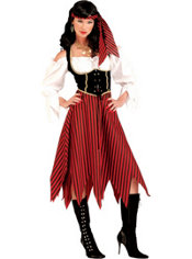 Adult Pirate Maiden Pirate Costume