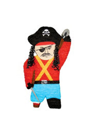Giant Pirate Pinata 38in