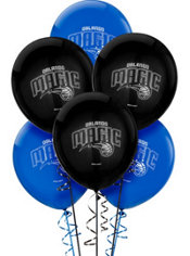 Orlando Magic Latex Balloon 12in 6ct