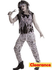 Adult Zombie Rock Star Costume