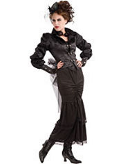 Adult Steampunk Victorian Lady Costume
