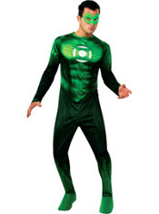 Teen Boys Hal Jordan Costume - Green Lantern