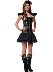 Teen Girls Princess Pirate Costume