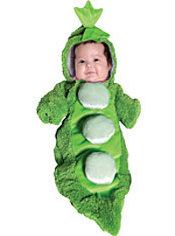 Baby Bunting Pea Pod Costume