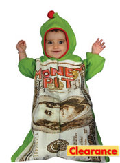 Baby Money Pit Costume Baby Bunting