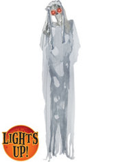 Light-Up Standing Halloween Bride 6ft