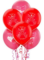 Latex Olivia Balloons 12in 6ct