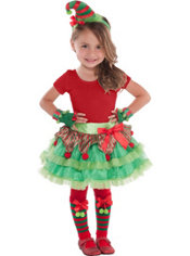 Child Elf Costume Kit 5pc