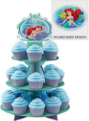 Little Mermaid Cupcake Stand