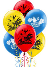 Avengers Balloons 12in 6ct