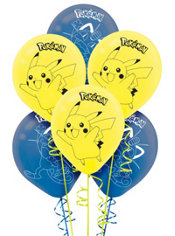 Pokemon Balloons 6ct