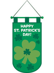 St. Patrick's Day Door Banner