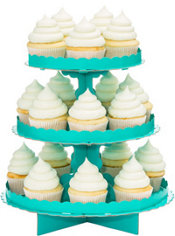 Robin's Egg Blue Cupcake Stand