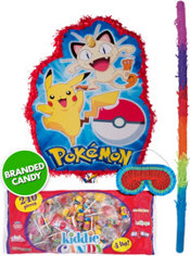 Pull String Pokemon Pinata Kit