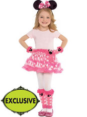 Girls Cute Minnie Mouse Costume