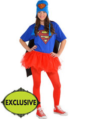 Adult Tutu Supergirl Costume - Superman