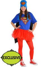 Adult Tutu Supergirl Costume - Superman