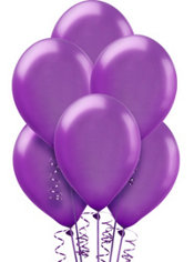 Purple Pearl Balloons 72ct