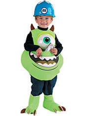 Toddler Boys Mike Candy Catcher Costume - Monsters Inc