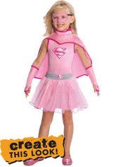 Girls Classic Supergirl - Superman