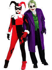 Harley Quinn and The Joker Couples Costumes