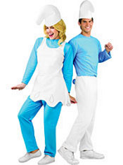 Smurfette and Smurf Couples Costumes