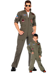 Top Gun Daddy and Me Costumes